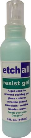 Etchall - 3 - Chemical Glass Etcher (118ml Resist Gel)