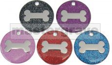 Multi pack of the new 25mm glitter tags, includes 200 tags (1 pack of 10 of each